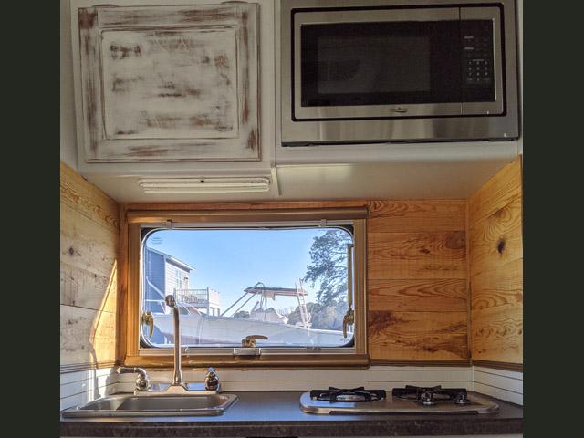 After Kitchen Renovation Lance 650 Camper Ann DeMuth (724)