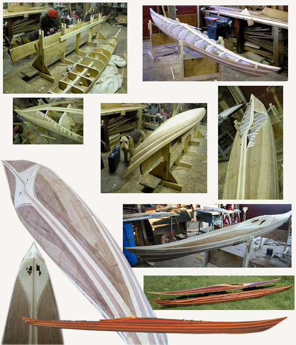 building a cedar strip kayak Ann DeMuth